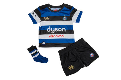 Bath 2017/18 Home Infant Rugby Kit