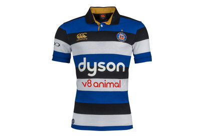 Bath 2017/18 Home S/S Classic Rugby Shirt