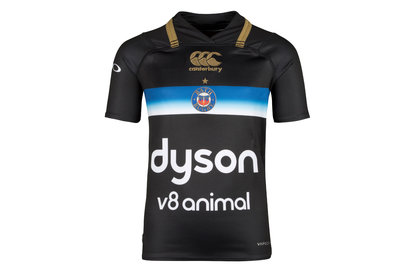 Bath 2017/18 Kids European/3rd S/S Pro Rugby Shirt