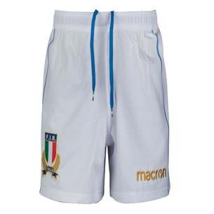 Italy 2017/18 Home Players Rugby Shorts