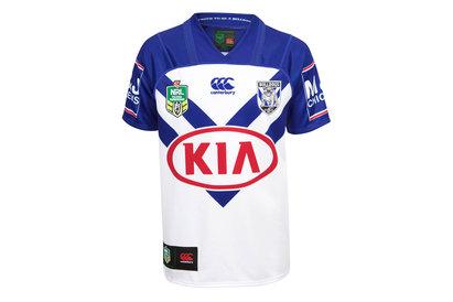 Canterbury Bulldogs NRL 2018 Home Kids S/S Replica Rugby Shirt
