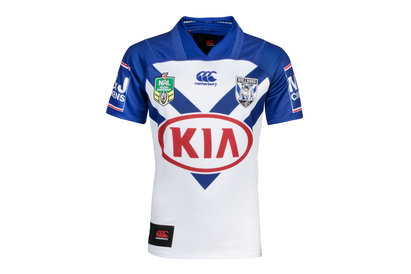 Canterbury Bulldogs NRL 2018 Home Youth S/S Replica Rugby Shirt