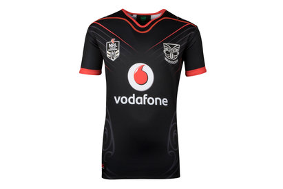 New Zealand Warriors NRL 2018 Home Youth S/S Rugby Shirt