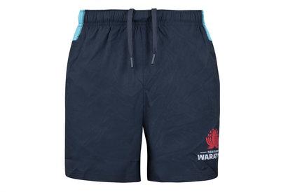 NSW Waratahs 2018 Super Rugby Training Gym Shorts