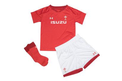 Wales WRU 2018/19 Mini Kids Home Replica Rugby Kit