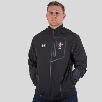 Wales WRU 2017/19 Players Rugby Presentation Jacket
