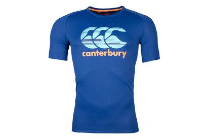 Vapodri Poly Largo Logo Rugby T-Shirt