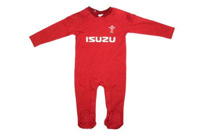 Wales WRU 2017/18 Infants Rugby Sleepsuit