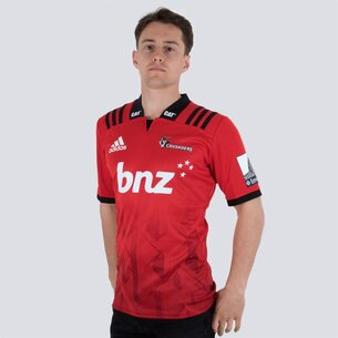 Crusaders 2019 Home Super Rugby S/S Rugby Shirt