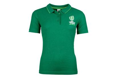 Womens RWC Ireland 2017 Ladies Rugby Polo Shirt