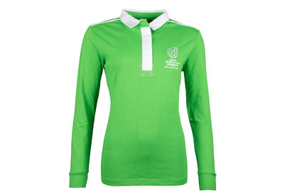 Womens RWC Ireland 2017 Ladies L/S Rugby Shirt