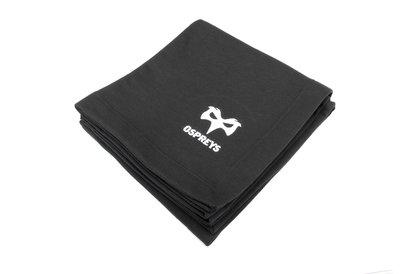 Ospreys Rugby Embroidered Crest Blanket
