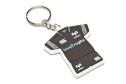 Ospreys Rugby PVC Kit Keyring