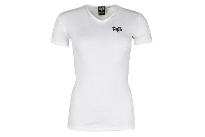 Ospreys Rugby Ava Ladies V Neck T-Shirt