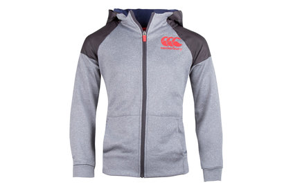 Vaposhield Kids Full Zip Hooded Rugby Sweat