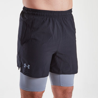 Qualifier 2 in 1 Woven Shorts