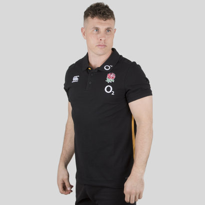 England 2018/19 Cotton Pique Rugby Training Polo Shirt