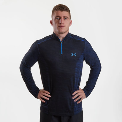 Threadborne Seamless 1/4 Zip L/S Training Top
