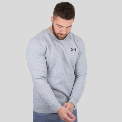 Rival Fleece Solid Fitted Crew Sweat