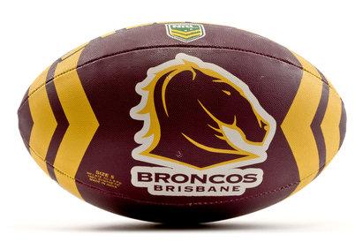 Brisbane Broncos NRL Rugby League Ball