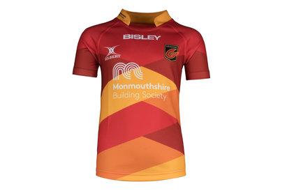 Dragons 2017/18 Kids Alternate S/S Replica Rugby Shirt