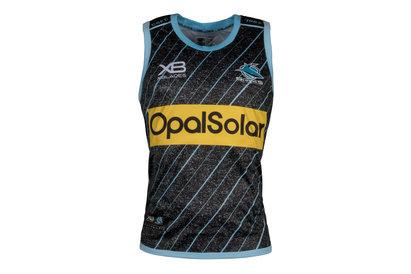 Cronulla Sharks NRL 2018 Rugby Training Singlet