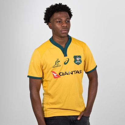 Australia Wallabies 2018/19 Home Players Test Rugby Shirt