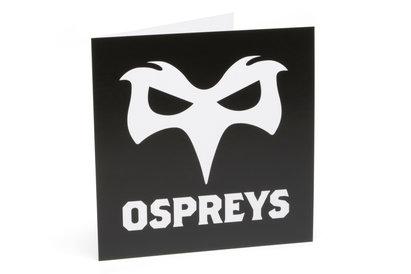 Ospreys Rugby Greeting Card