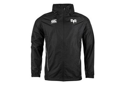 Ospreys 2017/19 Players Full Zip Rain Rugby Jacket