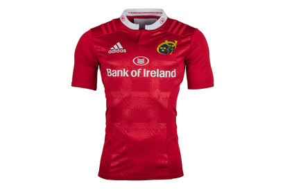 Munster 2016/17 Home Players Authentic S/S Rugby Shirt