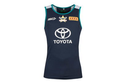 North Queensland Cowboys NRL 2018 Players Rugby Training Singlet