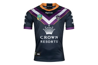 Melbourne Storm NRL 2018 Home S/S Rugby Shirt