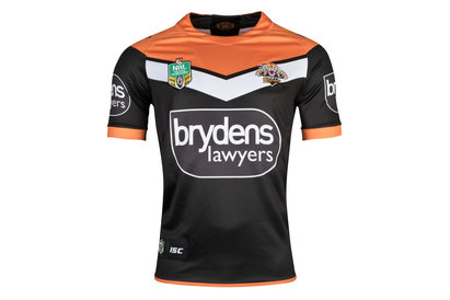 Wests Tigers NRL 2018 Home Replica S/S Rugby Shirt