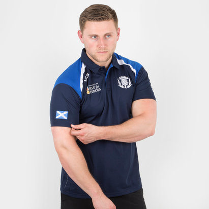 Help for Heroes Scotland 2018/19 Rugby Polo Shirt