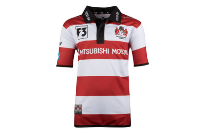 Gloucester 2017/18 Home Infant S/S Replica Rugby Shirt