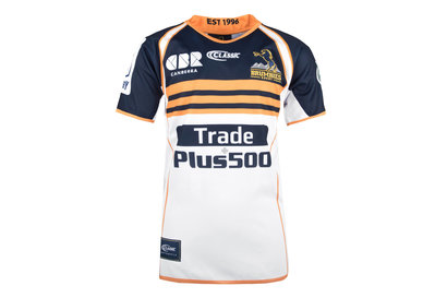 Brumbies 2018 Home Kids Super Rugby S/S Rugby Shirt