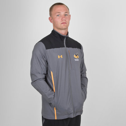 Wasps 2018/19 Players Travel Rugby Jacket