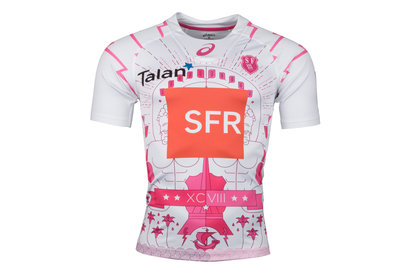 Stade Francais 2015/16 3rd Test S/S Rugby Shirt