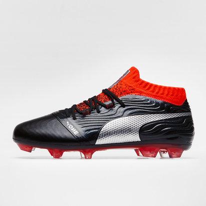Puma One 18.1 Kids Leather FG Football Boots