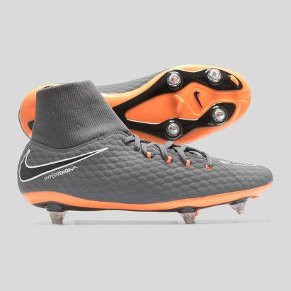 Hypervenom Phantom III Academy SG Football Boots