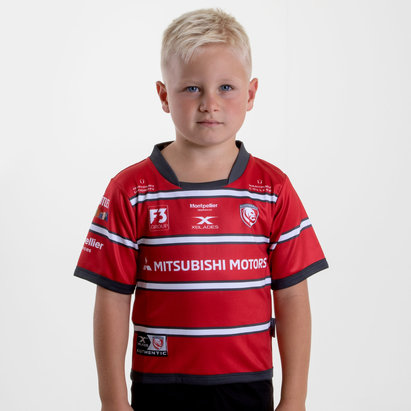 Gloucester 2018/19 Home Infant S/S Replica Rugby Shirt
