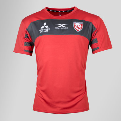 Gloucester 2018/19 Youth Rugby Training T-Shirt