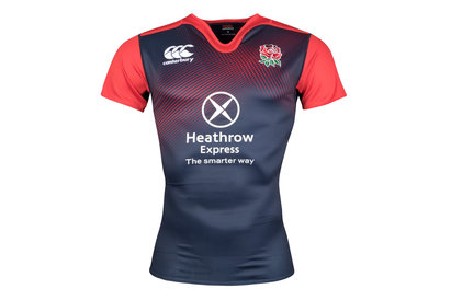 England 2015/16 Players S/S Test Rugby Training Shirt