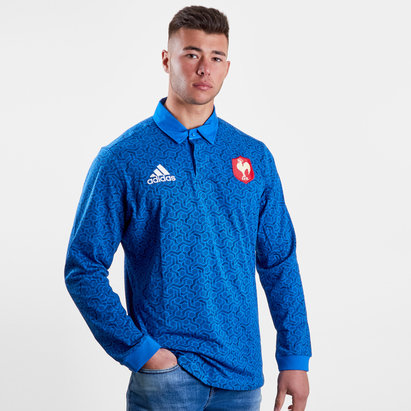 France 2018 Supporters L/S Rugby Shirt