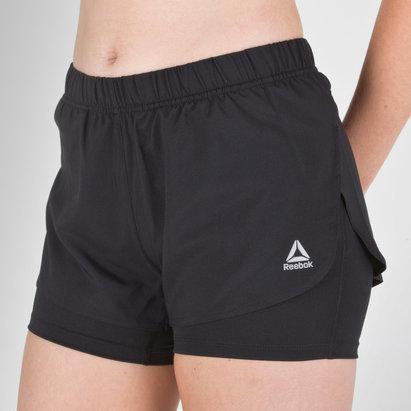Speedwick 2 In 1 Ladies Training Shorts