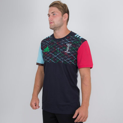 Harlequins 2018/19 Cotton Rugby T-Shirt