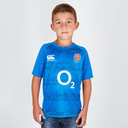 England 2018/19 Kids Graphic Rugby T-Shirt