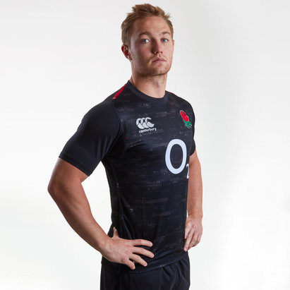 England 2018/19 Alternate S/S Players Test Rugby Shirt