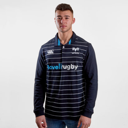 Ospreys 2018/19 Home Classic L/S Rugby Shirt