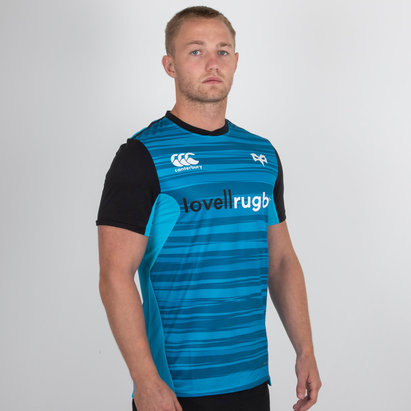 Ospreys 2018/19 Players Drill Rugby Training T-Shirt